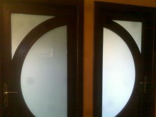 Drzwi z półkolem